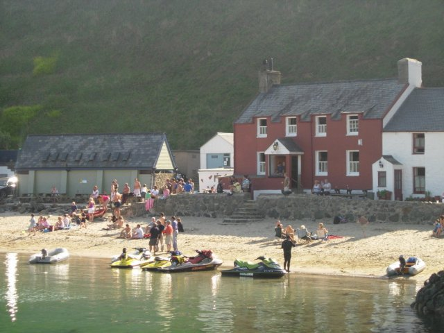 The pub on the beach